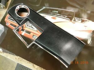 New Blem 66 67 Chevelle 4 speed Console Top Plate 1966 1967 El Camino Malibu Ss