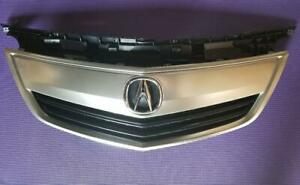 New Acura Tl 12 14 Front Upper Grill Grille Satin Finished W Emblem W Moulding
