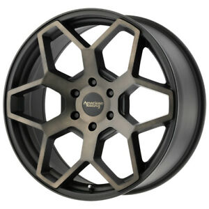 American Racing Ar916 18x8 5 6x5 5 35mm Black Machined Tint Wheel Rim 18 Inch
