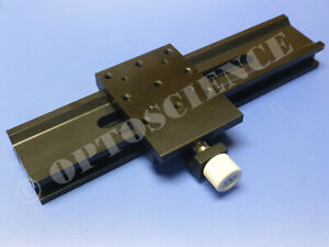 New Newport Optical Rail With Carrier 250mm Melles Griot Clone