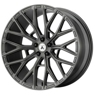 4 asanti Abl 21 Leo 20x9 5x4 5 35mm Gunmetal Wheels Rims 20 Inch