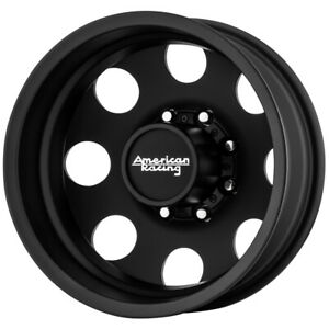 American Racing Ar204 Baja Dually Rear 17x6 5 8x200 Black Wheel Rim 17 Inch