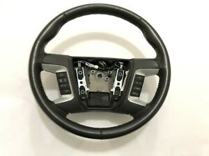 Ford Fusion Black Sport Leather Steering Wheel 2007 2008 2009 2010 2011 2012