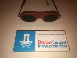 Bouton Eye Protection Glasses safety 50mm Round