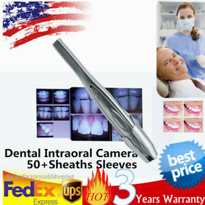 Dental Intra Oral Camera Mega Pixels 6led Intraoral Imaging Auto focus 50sleeves