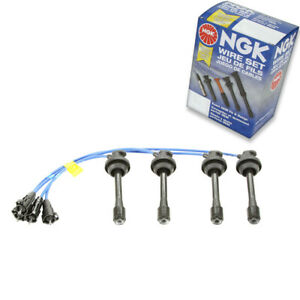 1 Pc Ngk Spark Plug Wire Set For 1998 1999 Toyota Corolla 1 8l L4 Engine Uk