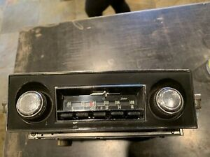 Rare 1967 Chevy Camaro Delco Am fm Radio Serviced By Howard Foulds