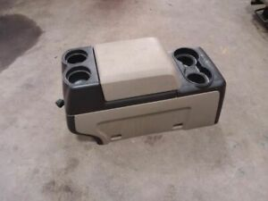 09 10 Ford F150 Pickup Front Floor Console full Console With Lid Column Shift