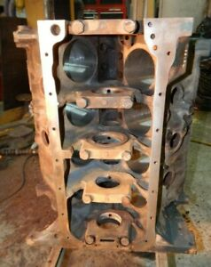 1969 Ford Mustang Gt Torino Fairlane 390 Standard Bore Engine Block 9b18