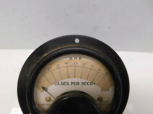 Vintage Winston Electrical Instrument Company Model 643 Pulses Per Second Meter