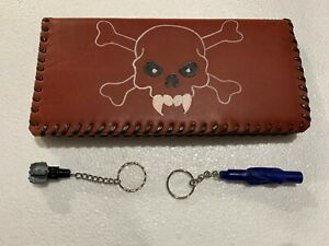 Oil Field Leather Pipe Tally Book Cover 8 75 X 4 C