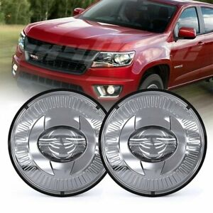 Pair Round Bumper Led Fog Lights Driving Lamps For Chevrolet Colorado 2015 2018