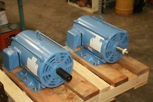 New Worldwide 20 Hp Electric Motor 1765 Rpm 230 460v 256t Odp