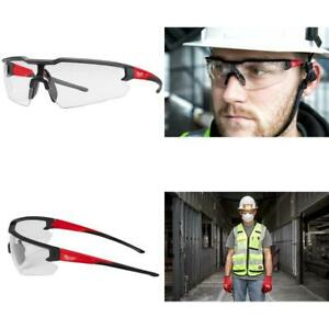 Safety Glasses With Clear Lenses Anti fog Durable Anti scratch 1 3 6 12 Pieces