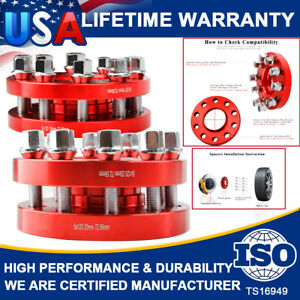 Hub Centric Wheel Spacers Staggered Kit 5x120 2 15mm 2 20mm W Bolts For Bmw
