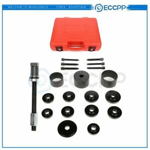 19pc Universal Front Wheel Hub Removal Tool Kit Drive Bearing Puller Master Set