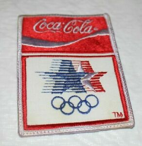 1984 Coca Cola Olympics Patch