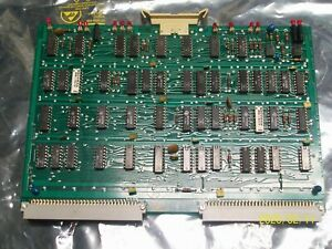 Agie 613562 8 Displacement Control Circuit Board