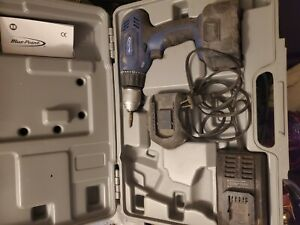 Bluepoint By Snap On 14 4 V Cordless Drill 2 Batteries Charger Case 14 4 Volts