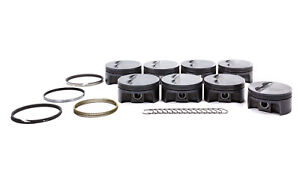 Mahle Pistons Sbc 4 155 In Forged Powerpak Piston And Ring Kit P n 930200455