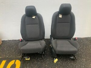 Used 2014 Chevrolet Caprice Black Cloth Bucket Seats 202 03979r And 202 03980l