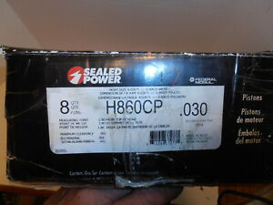 Sealed Power H860cp 030 Performance Pistons 383 Chevy Stroker
