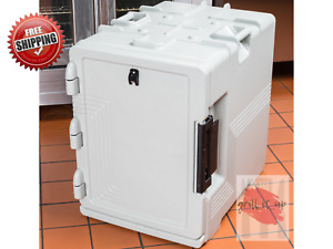 Cambro S Series Ultra Insulated Food Carrier Built In Gasket Speckled Gray