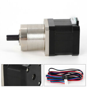 2poles 1pc 42bygp40 Precision Planetary Geared Motor 27 1 Only 12v Rohs