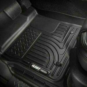 Husky Liners Weatherbeater Black Floor Mats For Toyota Tacoma Double Cab 2016 20