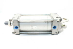 Smc Cda2d100 150 Double Acting Pneumatic Cylinder 100mm 1 2in 1mpa 150mm