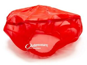 Outerwears 14 In Od 6 In Tall Red Pre Filter Air Filter Wrap P n 10 1160 03