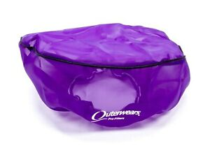 Outerwears 14 In Od 6 In Tall Purple Pre Filter Air Filter Wrap P n 10 1160 07