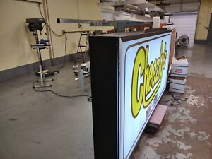 Double Sided Outdoor Led Light Box Sign 24 X 48 X 7
