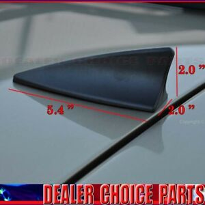 Universal Shark Fin Imitation Dummy Decorative Roof Antenna Matte Black Ship Usa