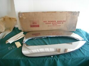 Nos 1962 Ford Galaxie 500 Xl Stainless Fender Skirts 62