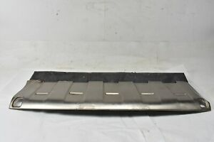 2003 2004 2005 2006 Porsche Cayenne Turbo Front Lower Bumper Skid Plate Cover
