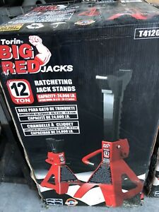Torin T41202 Big Red 12 Ton Jack Stands