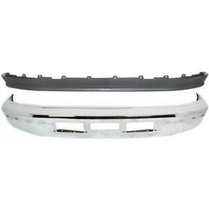 Fo1002254 Fo1095154 Bumper Face Bar Kit Chrome Front For Truck F250 Ford F 250