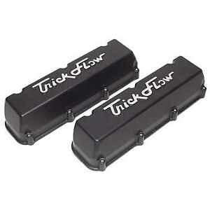 Trick Flow Aluminum Stock Height Valve Covers Ford Modular P n Tfs 53411802