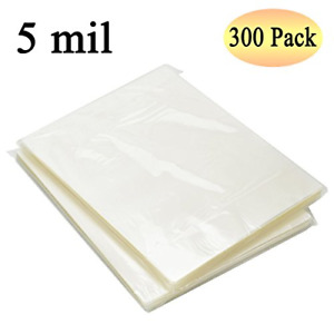 Thermal Laminating Pouches Supplies 8 9 X 11 4 Inches Letter Size 5 Mil 300 Pack