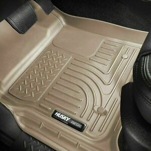 Husky Liners Wb Tan Floor Mats Fit Ford F 150 Super Crew Cab 2009 2014 98333