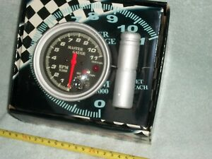 11000 Rpm Tach Carbon Fiber Shift Lite Light Imca 4 7 Colors Race Tachometer
