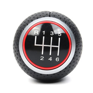 6 Speed Gear Shift Knob For Audi S Line A3 03 13 A4 Q5 S3 S4 8p 07 15