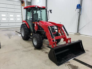 2018 Tym Tractors T454 Tractor W industrial Tires And Front Loader New