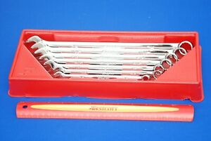 Mint 2017 Snap On 7 Pc Sae 12 Point Long Combo Wrench Set Oexl707b Ships Free