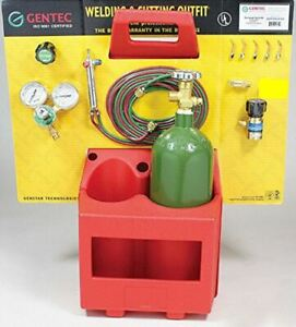 Gentec The Small Torch Kstp16tc h12sp Oxy fuel Brazing Soldering Outfit caddy