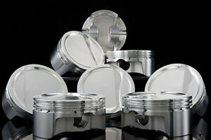 Bc1015 040 Cp Pistons Bullet 23 Forged Sbc 333 4 040 Flat Top