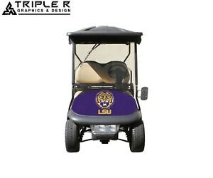 Lsu Golf Cart Full Body Wrap For Club Car Precedent
