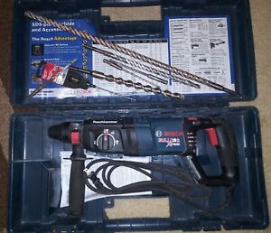 Bosch Sds Plus Rotary Hammer Bulldog Extreme Rotary Hammer With Handle With Bits
