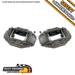 Front Brake Calipers Pair For 2008 2009 2010 2011 2012 Toyota Tundra Sequoia